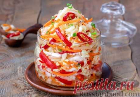 Салат из капусты - 30 лучших рецептов салата из капусты