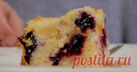 Восхитительный фруктовый пирог: просто и мега вкусно