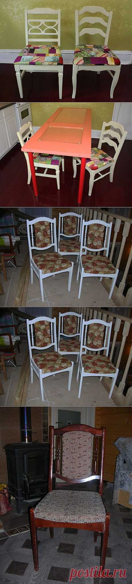 (+1) - Придаем старым стульям новый вид | СДЕЛАЙ САМ!