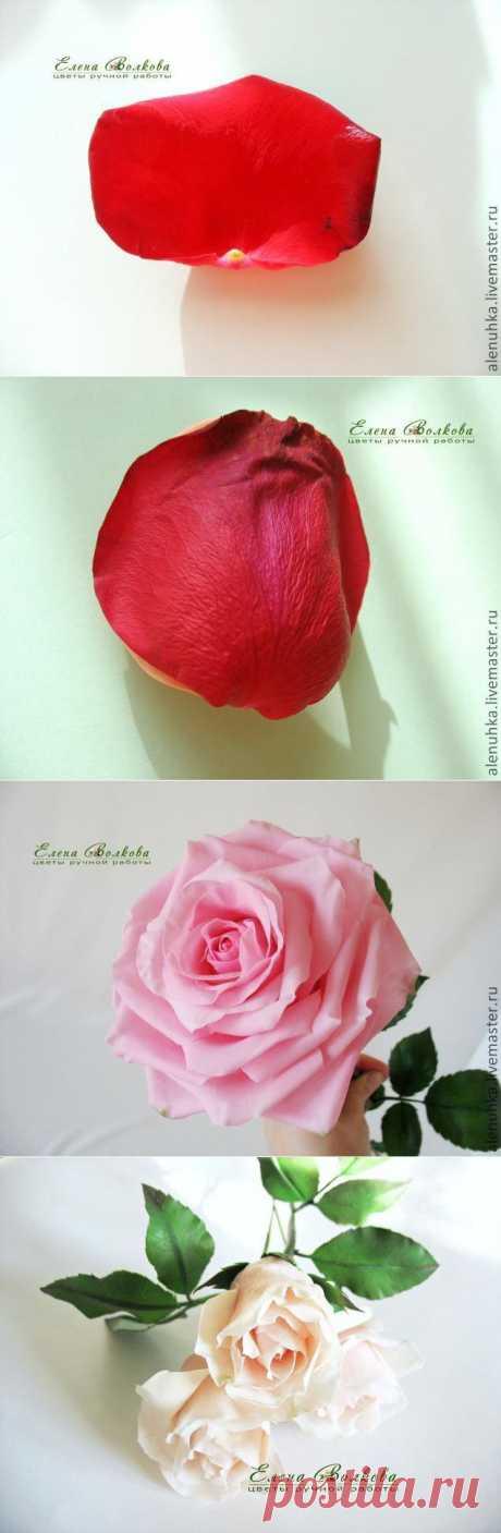 Маленькие тонкости большой розы. - Ярмарка Мастеров - ручная работа, handmade