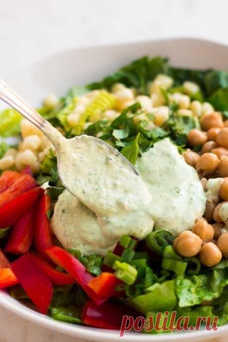 Низкокалорийная заправка для салата — Sloosh – кулинарные рецепты