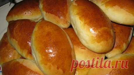 Постные пирожки с картофелем.