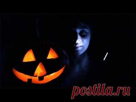 Тыква на Хэллоуин своими руками. How to make Jack O' Lantern Pumpkin for Halloween
