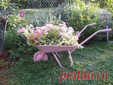 Поделки для дачи. Поделки для сада и огорода