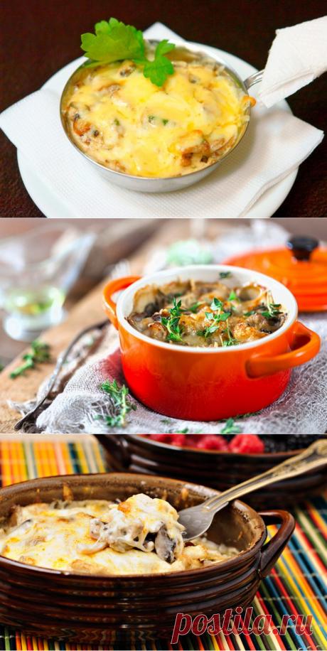 Жульен с грибами и курицей – 8 рецептов приготовления - Интересный блог
