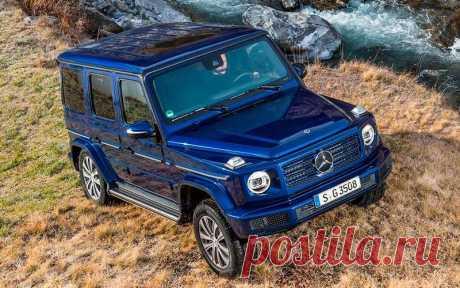 Дизельный Mercedes G 350 d, фото, цена в России, характеристики