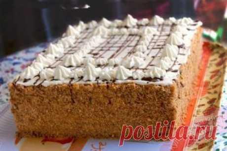 Торт «Арлекин» - вкуснейший союз «Медовика» и «Наполеона»