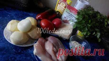Мясо по-французски в духовке - Мясо по-французски от 1001 ЕДА
