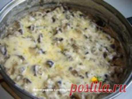 Потрясающий рецепт быстрого жульена из баклажанов