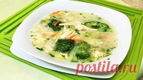 Очень вкусный сырный диетический суп