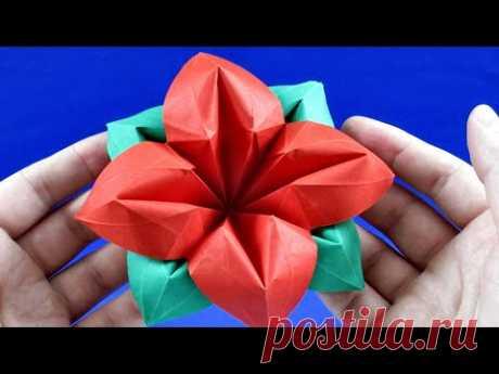 Как сделать цветок из бумаги своими руками Цветы из бумаги