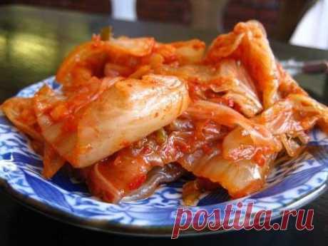 Капуста по-корейски рецепт в домашних условиях / Простые рецепты