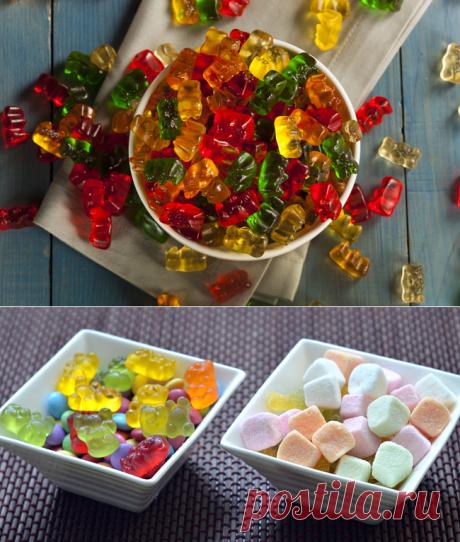 Лучшие рецепты детских мармеладок дома