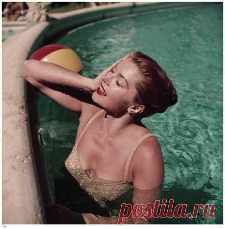 Красивая жизнь: высшее общество у бассейна