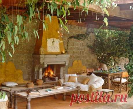 How to issue a fireplace in the dining room, an office and on the street: 15 ideas | Samotsvetik