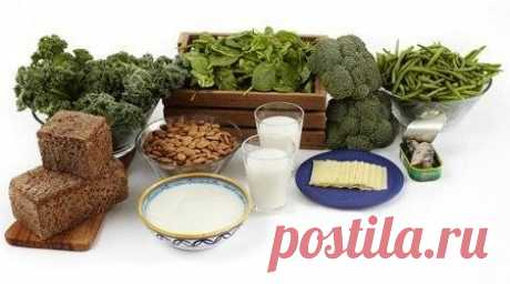 From where to take calcium if to refuse dairy products?