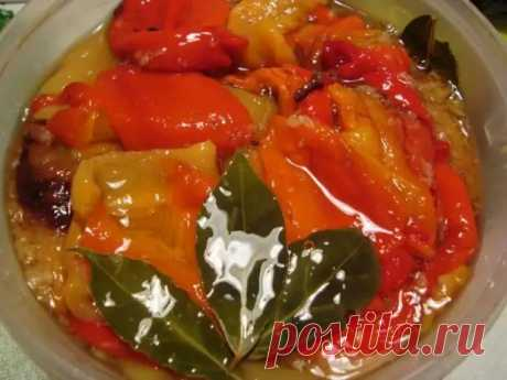 Болгарский перец в сладком маринаде. Изумительно вкусный рецепт заката! - Скатерть-Самобранка - медиаплатформа МирТесен