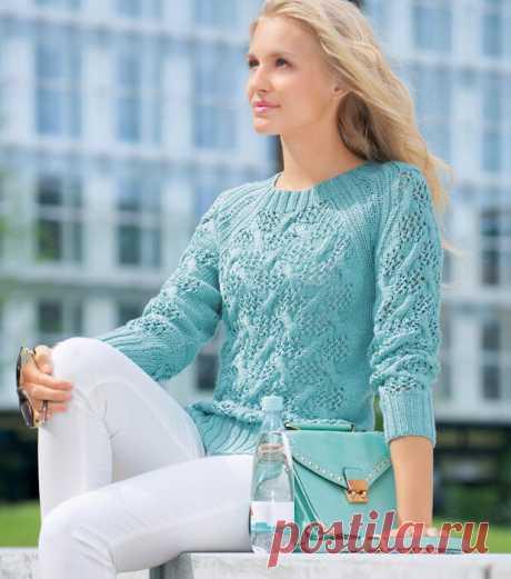 Ажурные пуловеры. Божественная красота и нежность. | Магия творчества | Яндекс Дзен