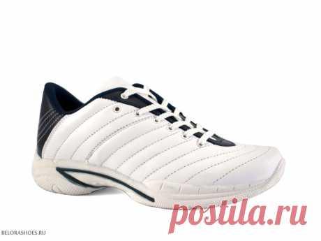 Кроссовки мужские Spotter 131499S, белый Легкие мужские кроссовки для активного отдыха