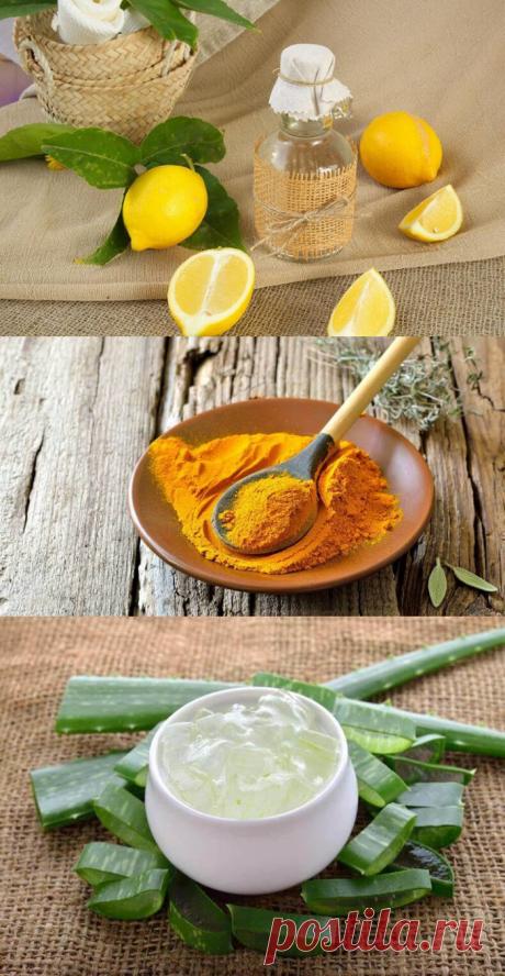 5 лучших натуральных средств против печеночных пятен