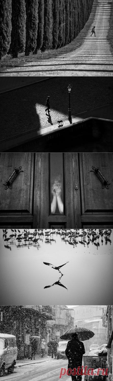 Черно-белая уличная фотография Гая Коэна — Фотошедевры