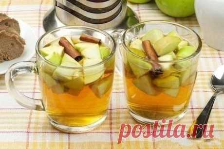 Имбирный чай с яблоками — Мегаздоров