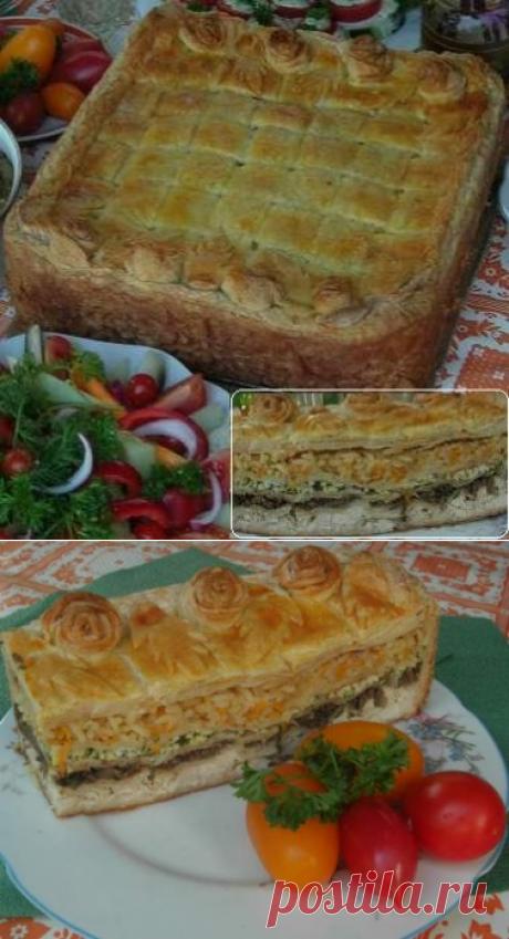 Пирог «Царская шкатулка»