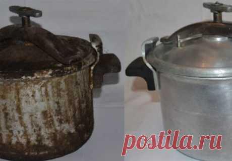 Чистим алюминиевую посуду гениально простым способом   Люблю Себя