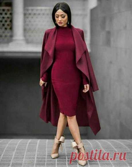 Как носить самый модный цвет этой осени / Все для женщины