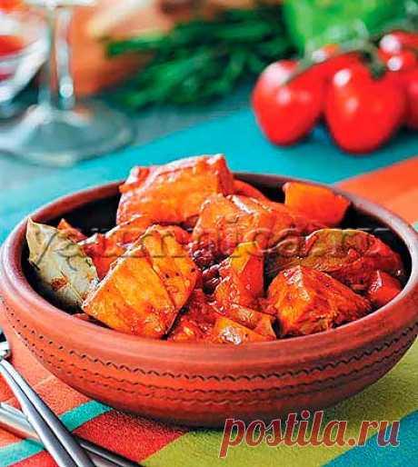 Тунец, тушенный с картофелем: рецепт, пошаговый фото рецепт, ингредиенты