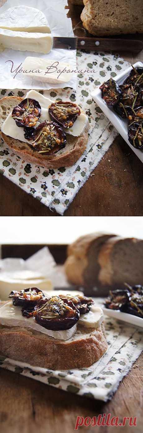 Заметки на кухонных занавесках - Пряная вяленая слива
