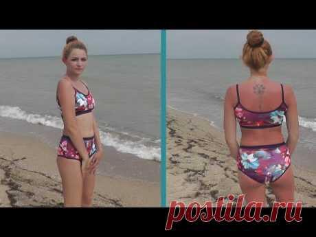 Как сшить купальник своими руками - легкий крой и пошив