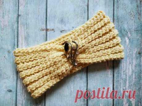 Очень красивая шапка спицами » «Хомяк55» - всё о вязании спицами и крючком