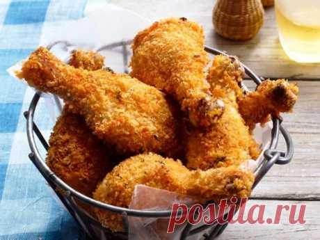Хрустящие куриные ножки в лимонном маринаде рецепт | Гранд кулинар