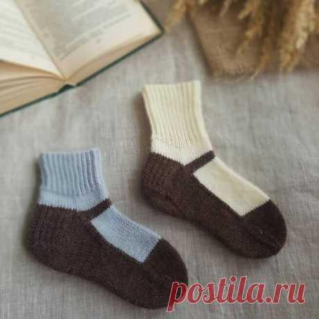 Яркий и богатый мир вязаных носков - рассказываю основные принципы вязания