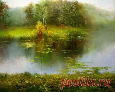 Пейзажи художника Генриха Радзишевского