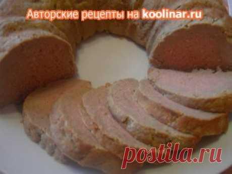 Паштет из свинины и печени запеченый рецепт с фотографиями