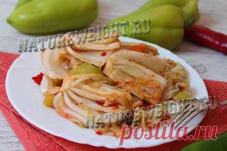 Самый простой рецепт кимчи по-корейски: инструкция с пошаговыми фото Это один из самых простых рецептов приготовления настоящего кимчи - квашеной пекинской капусты по-корейски. Инструкция с детальными пошаговыми фото.