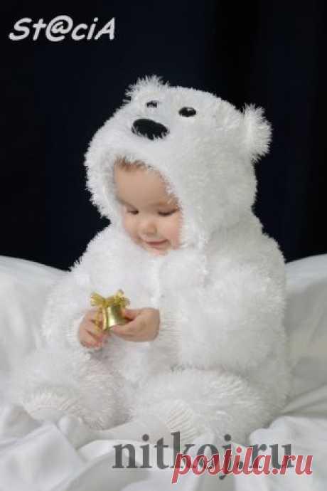 Вяжем костюмчик для малыша «Мишка Умка», описание и видео » Ниткой - вязаные вещи для вашего дома, вязание крючком, вязание спицами, схемы вязания