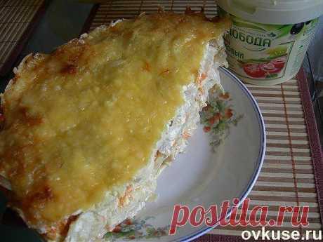 Куриное филе под шубой - Простые рецепты Овкусе.ру