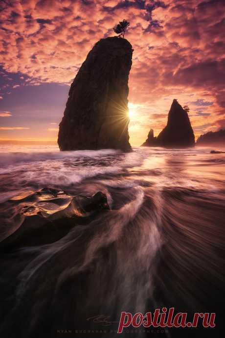 Flow - Rialto Beach Olympic—National Park www.exposurescape.com