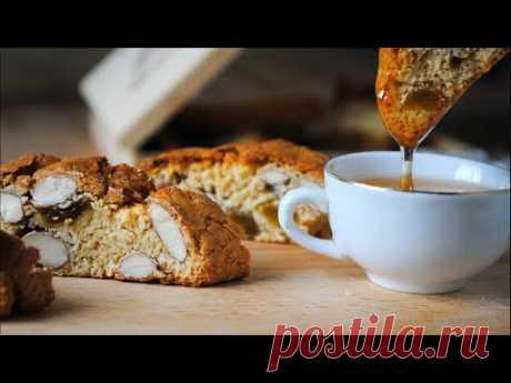 Бискотти [ Кантуччи ] простой рецепт Итальянского печенья с миндалём 🌟👌 - YouTube