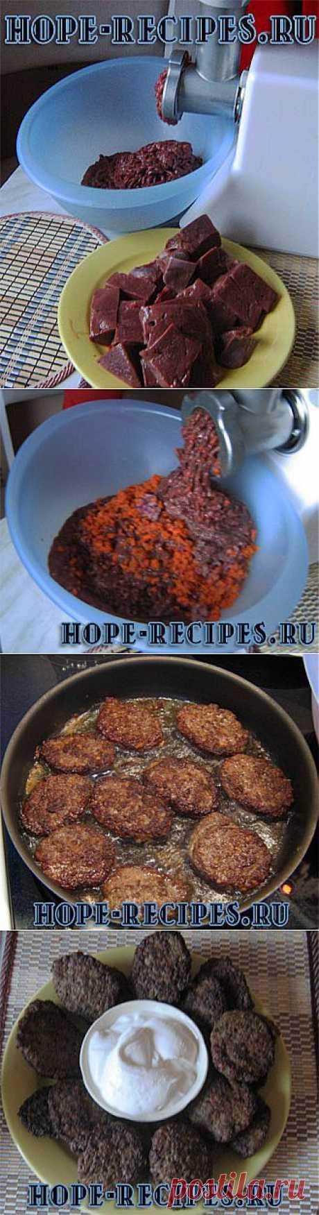Котлеты из печени © Кулинарный блог #Рецепты Надежды