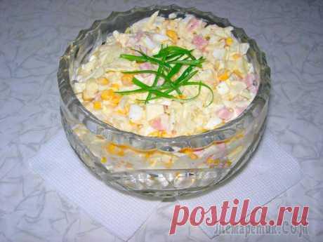 """Салат """"Ваксялям"""". Праздничный рецепт салата! Сегодня у меня праздничный рецепт салата. Салат называется ВАКСЯЛЯМ. Такое необычное название салата произошло из названия первых букв его ингредиентов.Салат получается очень вкусным. Предвидя коммен..."""