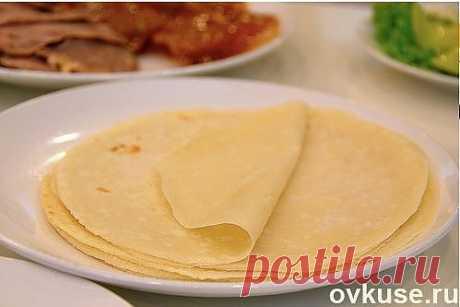 Блинчики очень - очень тонкие - Простые рецепты Овкусе.ру