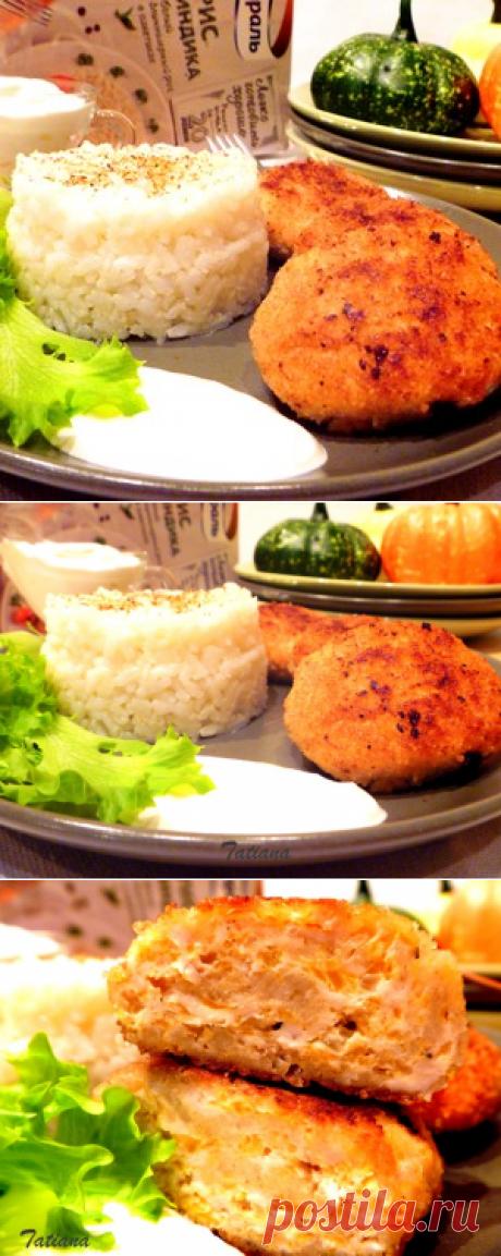 Котлеты курино-тыквенные с рисом Индика за 20 минут рецепт с фотографиями