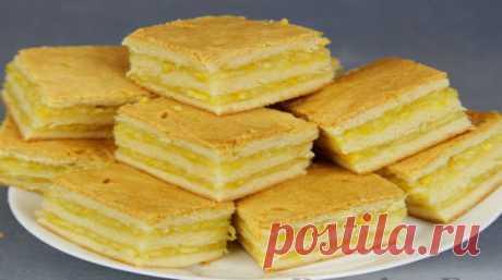 Пирожное с лимонно-апельсиновой начинкой - Подружки - медиаплатформа МирТесен