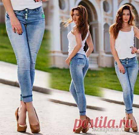 Как определить размер джинсов без примерки Как выбрать джинсы, не заходя в примерочную. Случаются такие моменты, когда срочно нужны новые джинсы, а примерить их нет ни желания, ни сил, ни условий, что делать? Я вам покажу несколько способов, к...