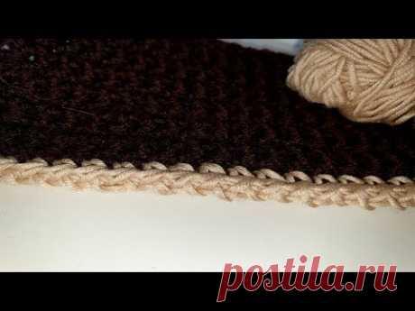 Видео, как связать узор #узорыспицами #узорыкрючком #СветланаСК #knittingpattern #pattern #crochetpattern