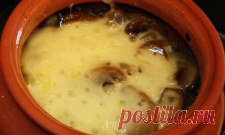 Картошка с грибами в горшочках :: Москва :: RusNews